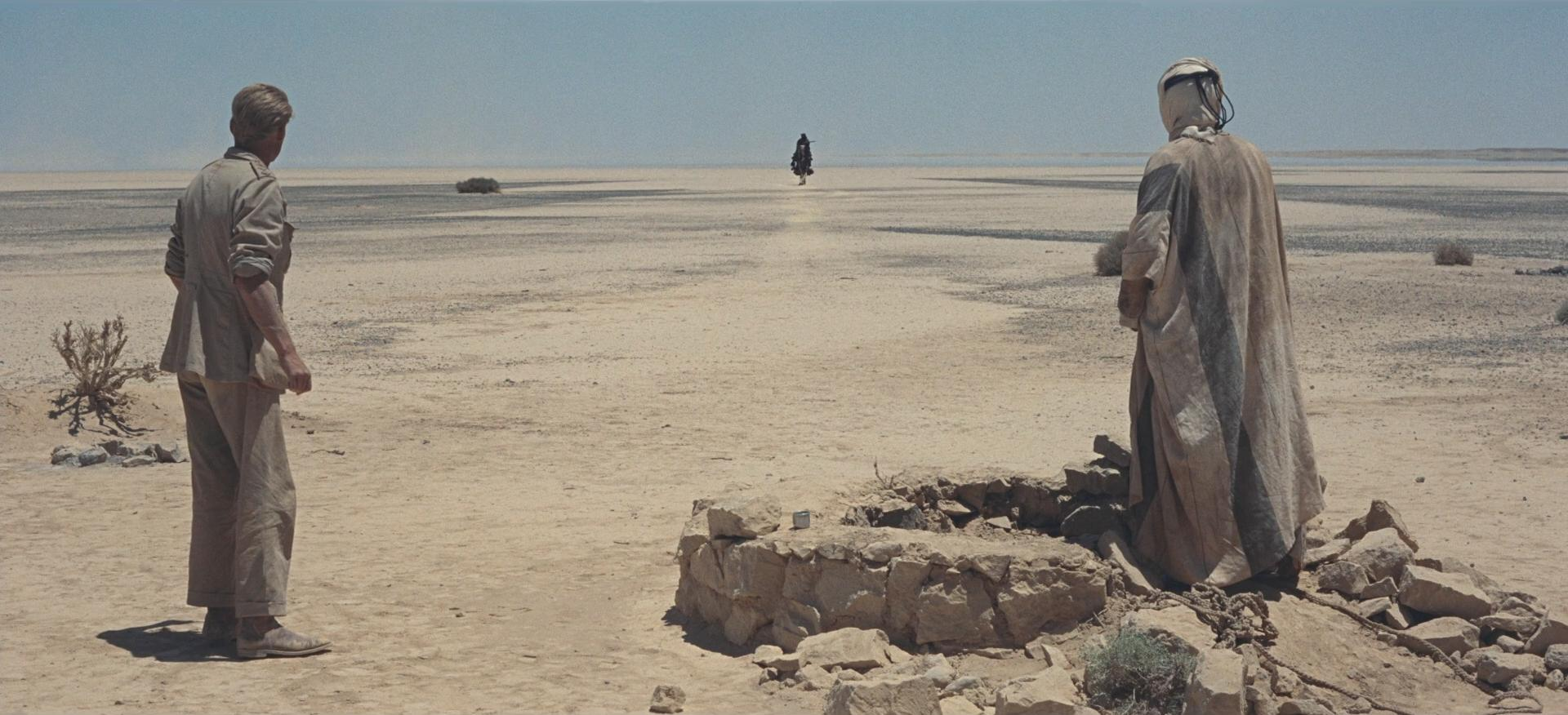 A still from  Lawrence of Arabia.