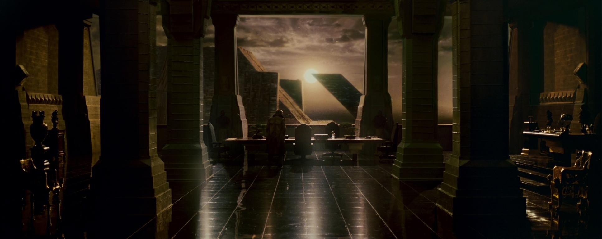 A still from  Blade Runner.
