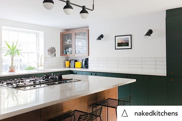 Posted @withrepost • @nakedkitchens We are definitely seeing an increasing popularity for walnut kitchens and we must say we love it! Walnut is an incredible wood to feature in your kitchen as it looks striking both on its own and amongst painted cabinetry too. Photography by @megantaylorphoto. Credit to @district_architects  #NakedKitchens #BespokeKitchen #KitchenDesign #KitchenDecor #InteriorDesign #WalnutKitchen
