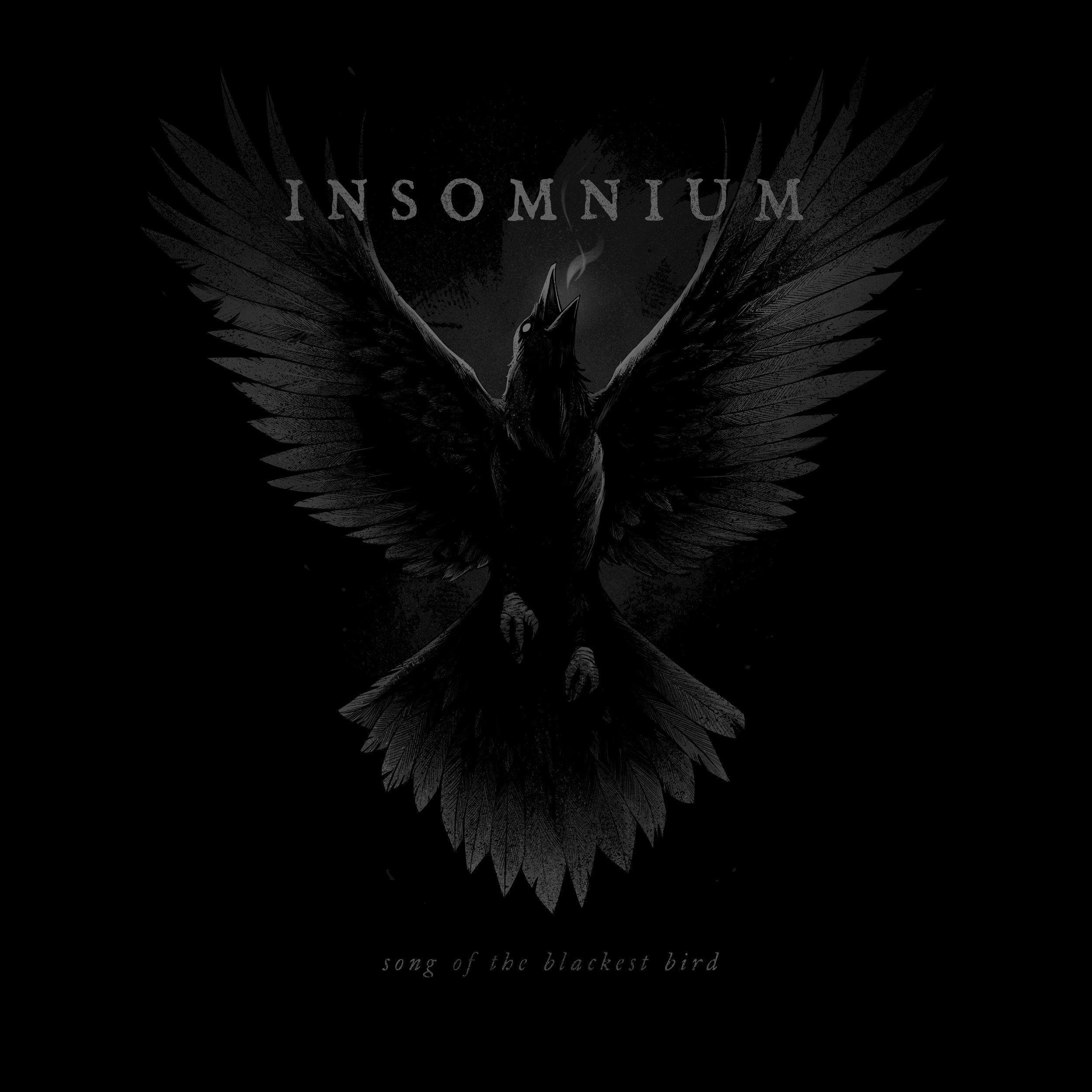 Shirt design for  Insomnium , 2016.