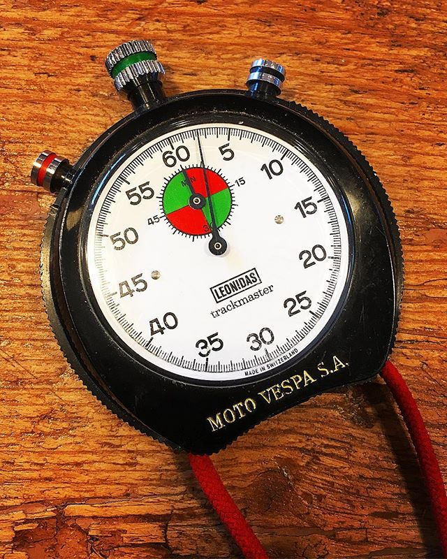 70s Leonidas (Heuer) Stopwatch, customized for MotoVespa factory!! . . . #VintageHeuer #Stopwatch #Stopwatches #HeuerStopwatch #Rareheuer #HeuerYacht #HeuerYachttimer #HeuerAbercrombie #Heuerabercrombieandfitch #RareBreitling #MonteCarlo #HeuerMontecarlo #andhora #Hodinkee #vintage #VintageHeuer #vintageWatch #Omega #Rolex #TagHeuer #WatchFam #Breitling #VintageStopwatch #VintageCurators #Yacht #Yachttimer #HeuerYachttimer #LeonidasStopwatch #Leonidas #LeonidasTrackmaster #Motovespa #LeonidasMotovespa