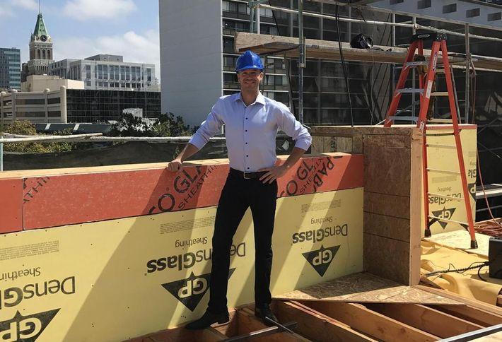 St. Regis Properties Director of Development Sam Remcho