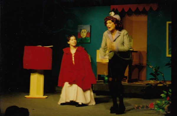 Founder, Matilda Kunin, performing on the YPT stage in 1998.