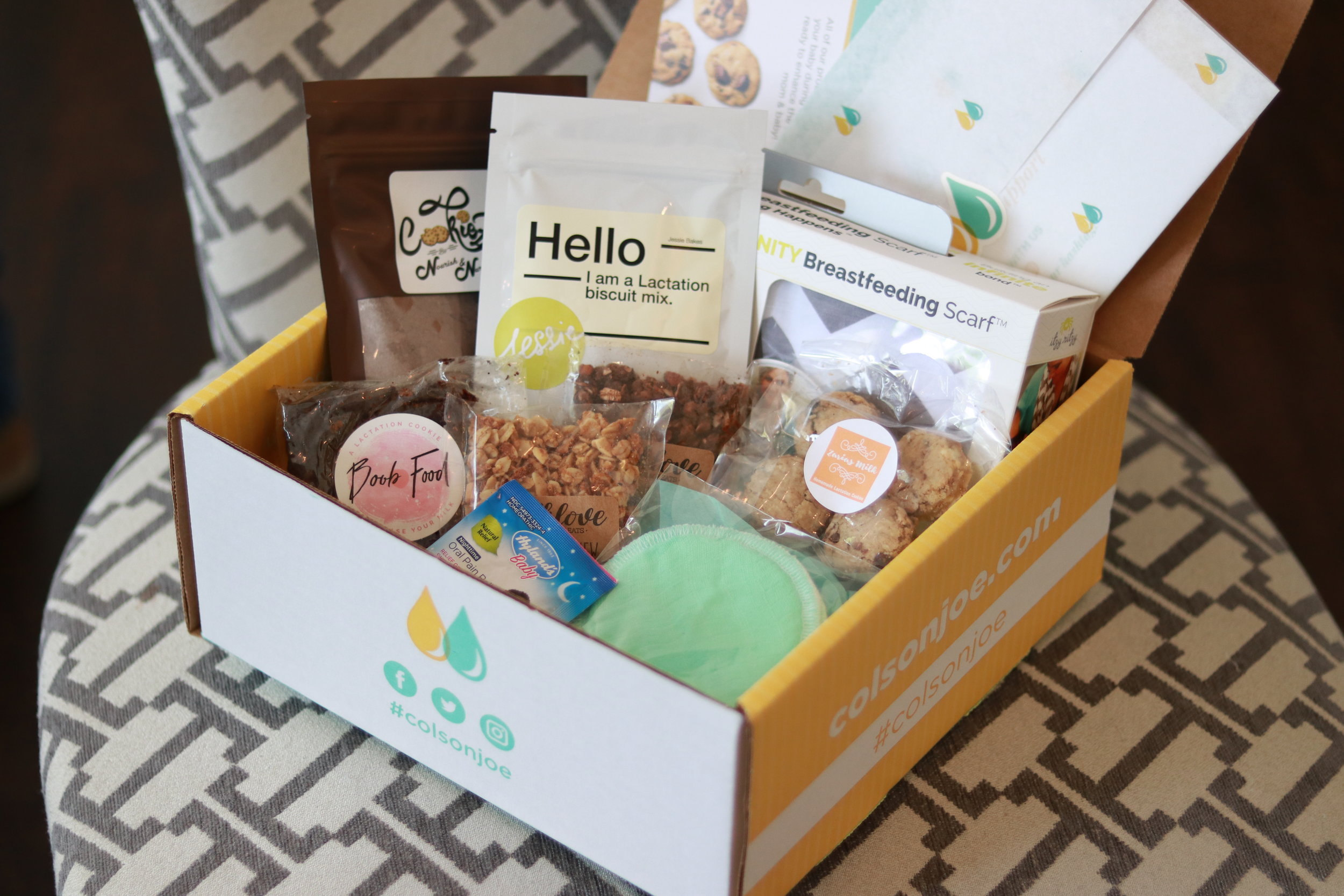 - This week's episode is sponsored by Colson & Joe, a monthly breastfeeding subscription box!