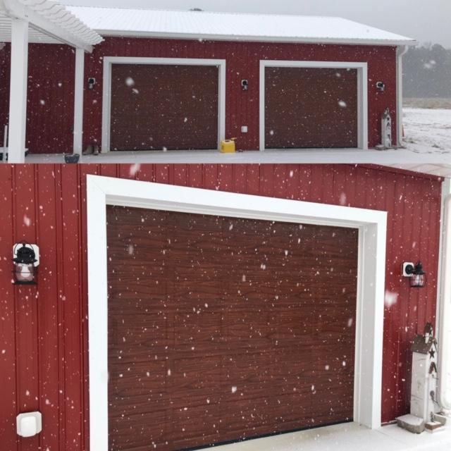 Haas woodtone door