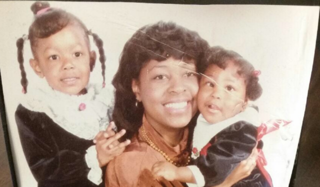 Tonya Green and her two daughters