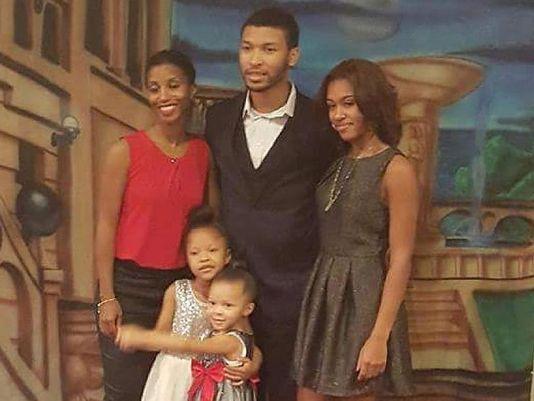 (Top row) Faith Harris, her son Chadney Allen, her daughter Kara Allen (Bottom row) Faith & Gregory's children, Koi Green and Kaleigh Green