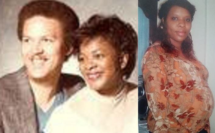 (Right) Roscoe Glinton with then wife, Deborah Glinton (Left) Lisa Eatmon
