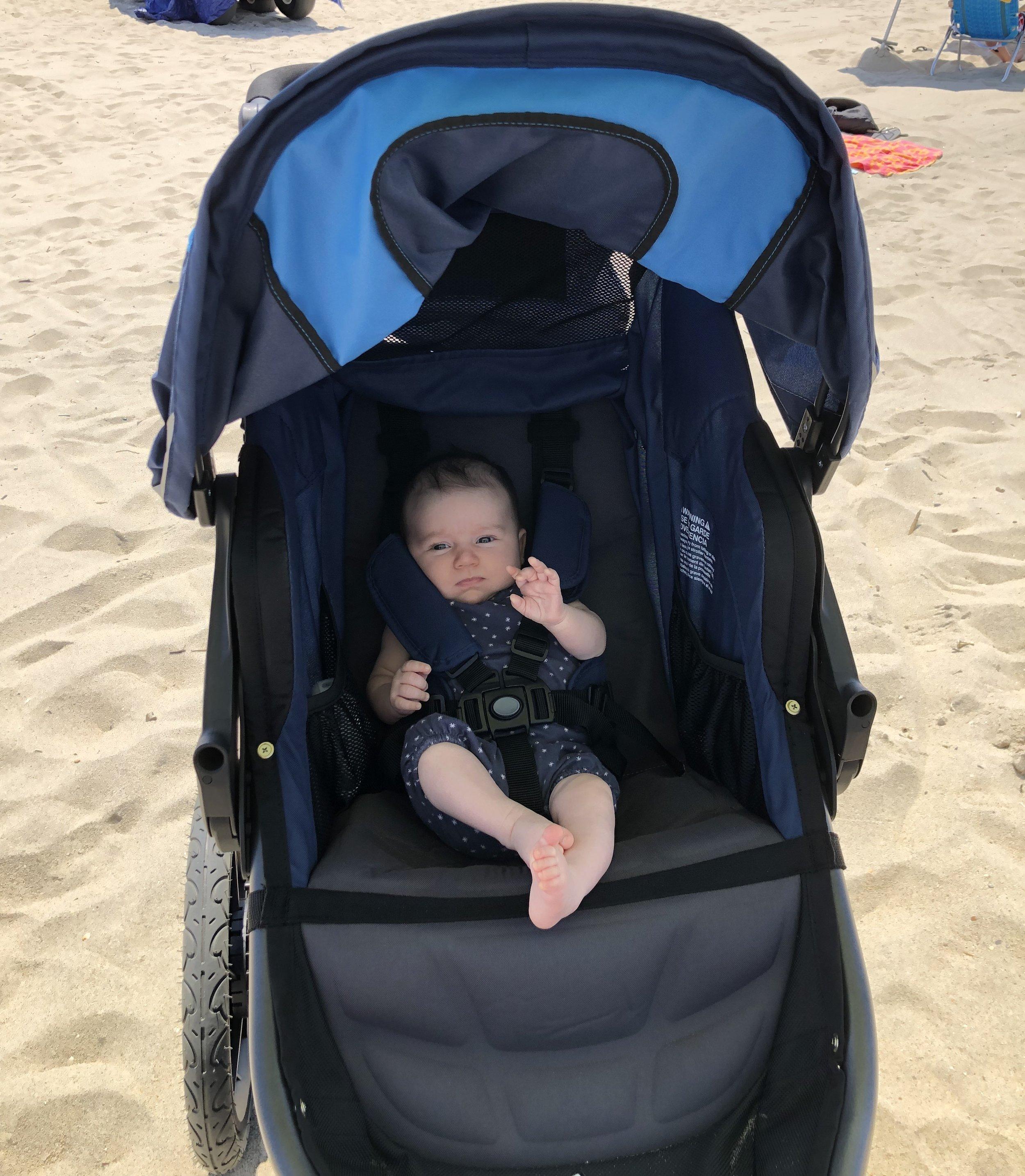 bob revolution 3.0 jogging stroller with newborn