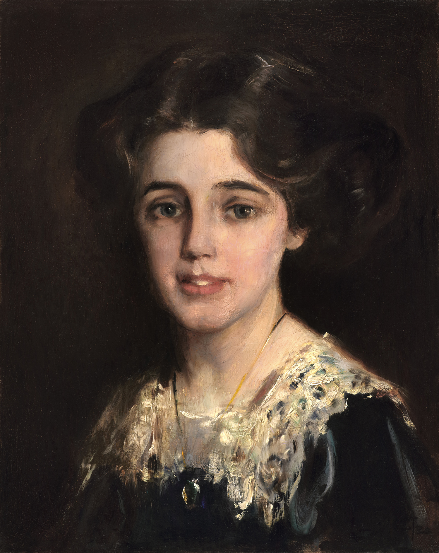 Laura Muntz Lyall (Canadian 1860-1930) 'Portrait Of Catherine MacLure '