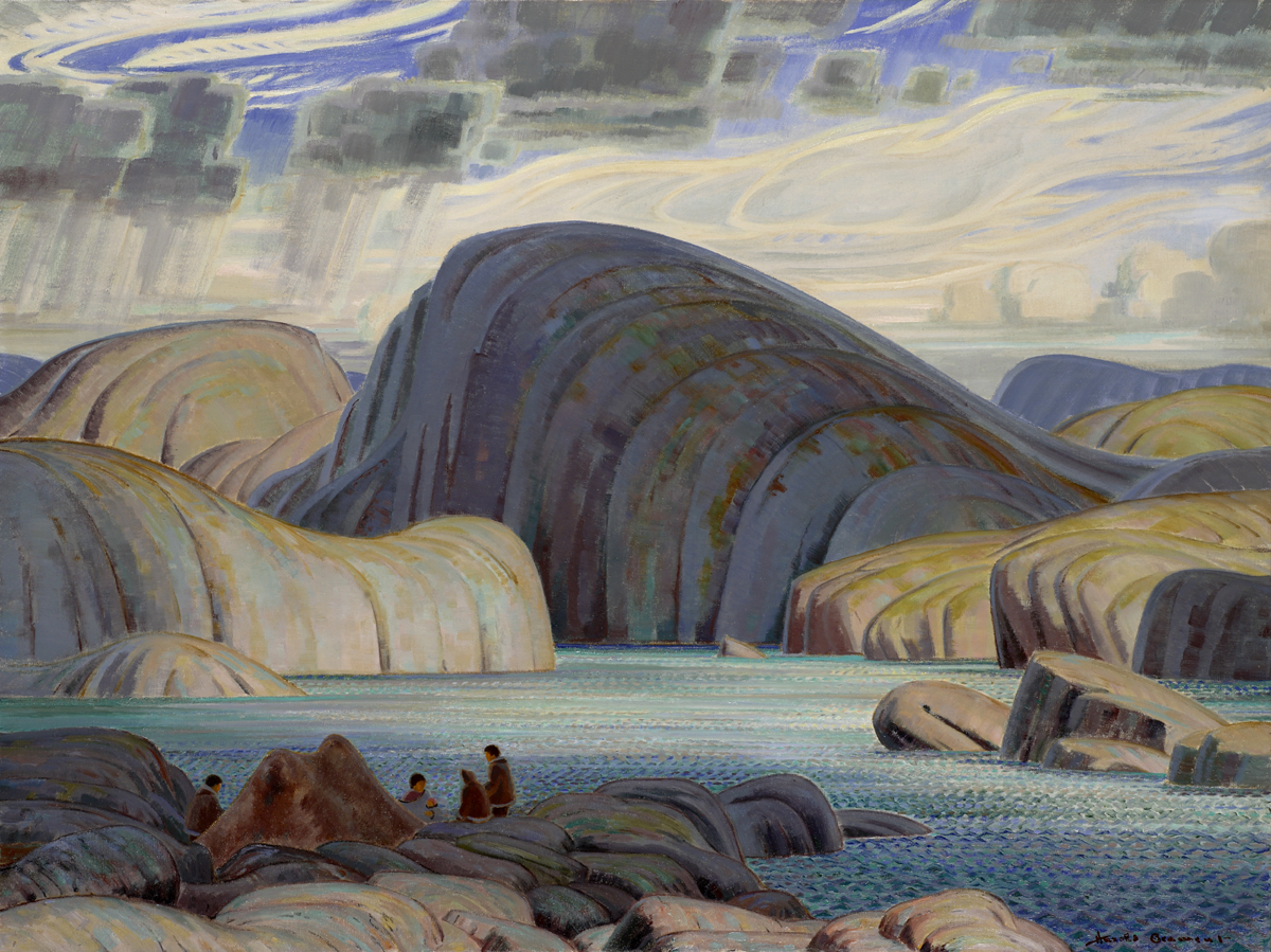 Thomas Harold Beament (Canadian 1898-1984) Eskimo Camp