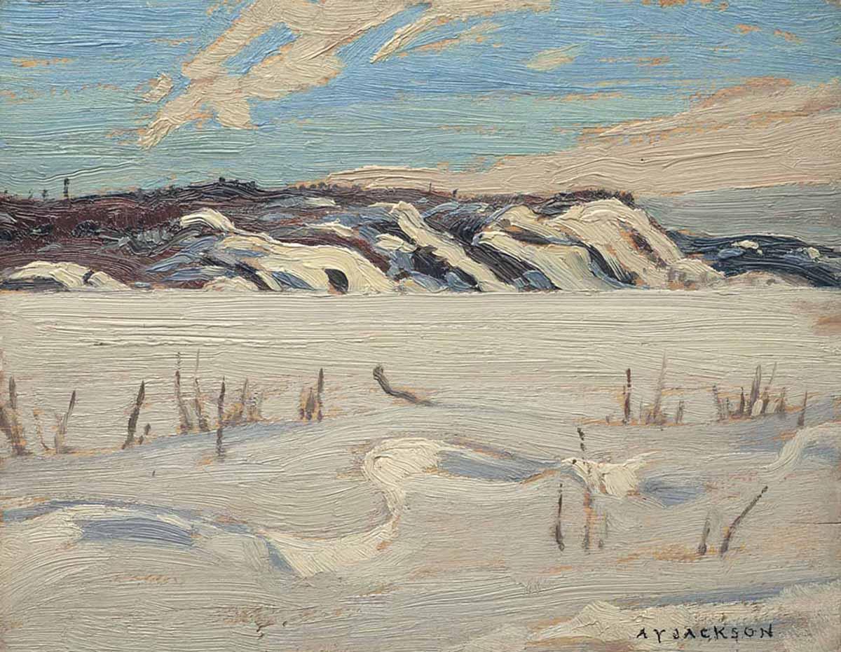 Alexander Y. Jackson (Canadian 1882-1974) Bon Echo, Ontario 1924