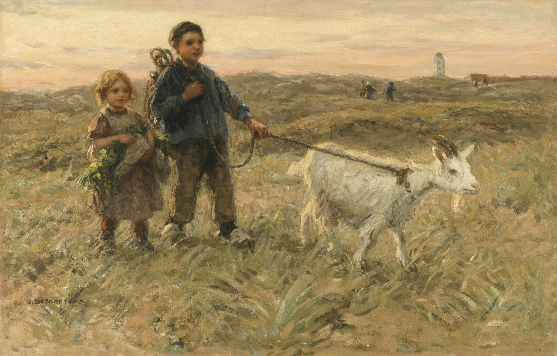 Johann Zoetelief Tromp (Dutch 1872-1847) Homeward Bound