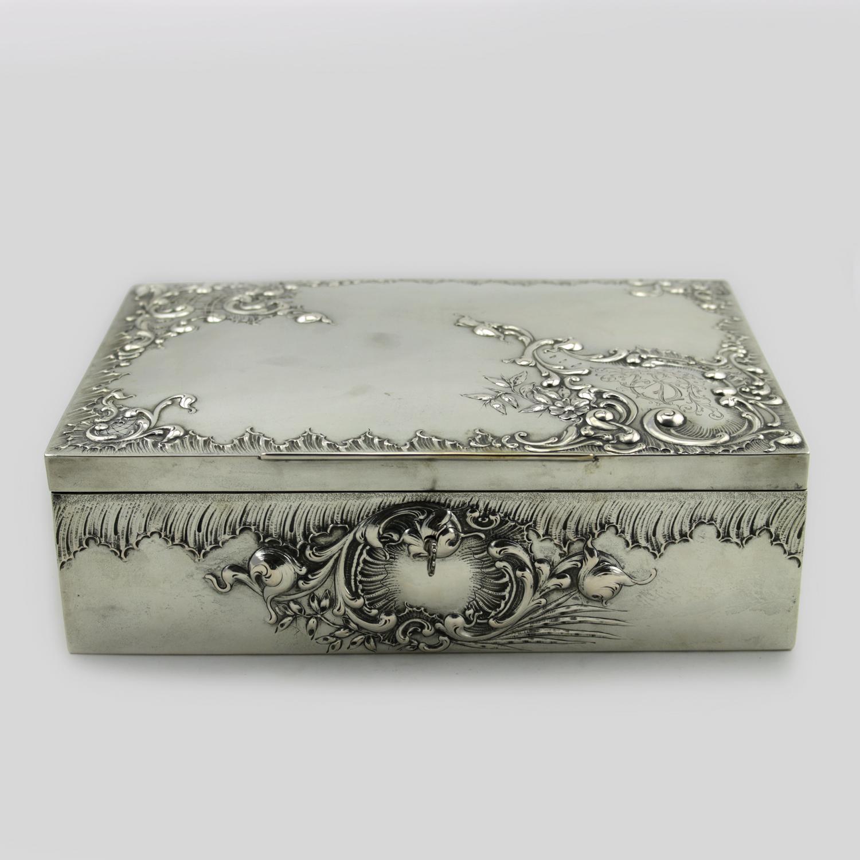 Austrian Silver Box