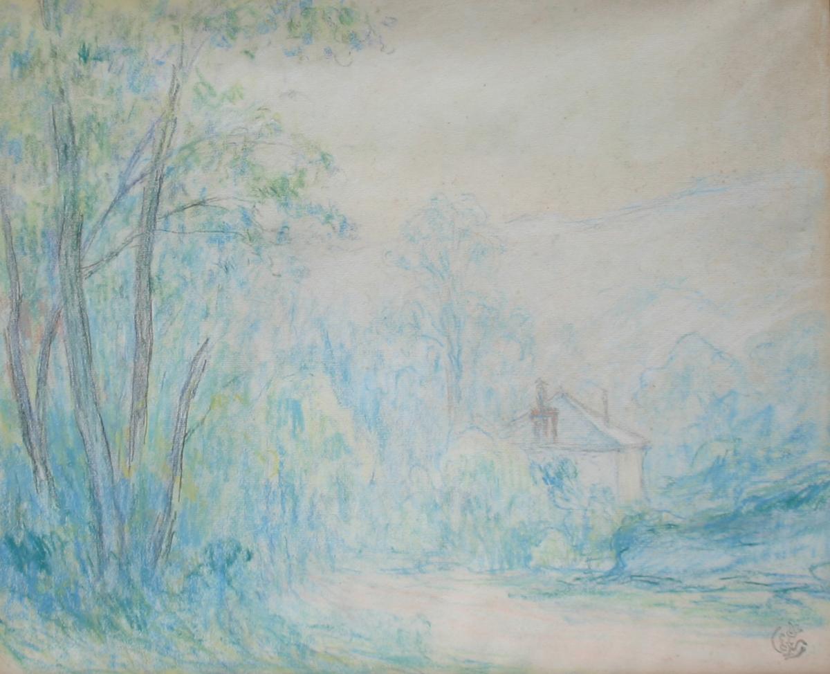 Claude Schuffenecker 'Landscape with House'.jpg