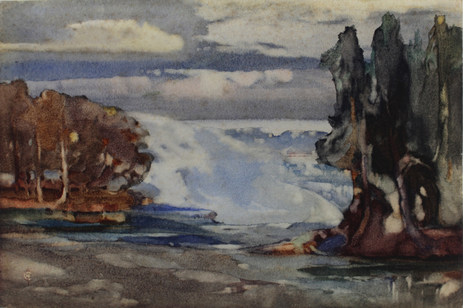 Charles John Collings (Canadian 1848-1931)Sprays at Niagara.jpg