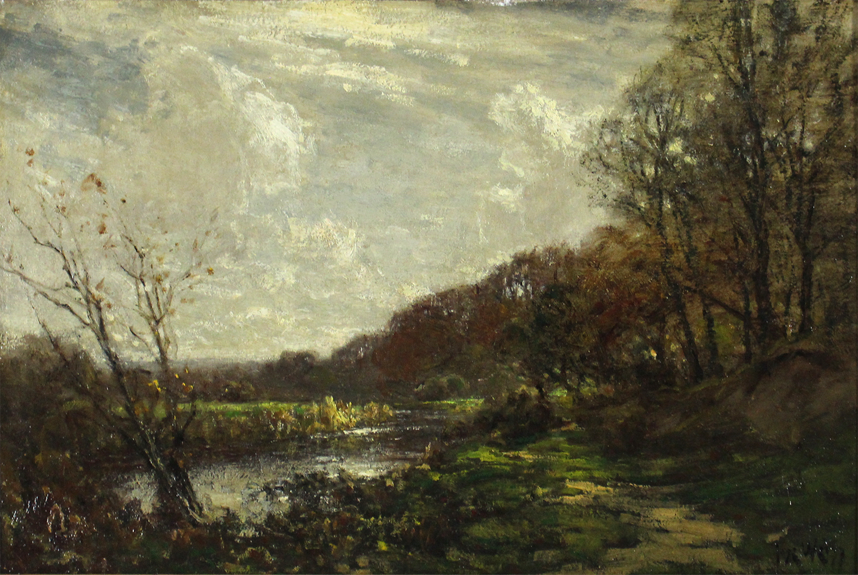 Jose Weiss (British 1859-1919) Landscape