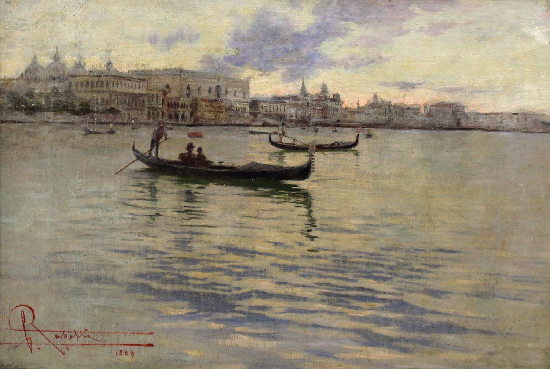 Camillo Rapetti (Italian 1859-1929) Venice