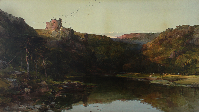 Charles Branwhite (British 1817-1880) Kilgerran Castle