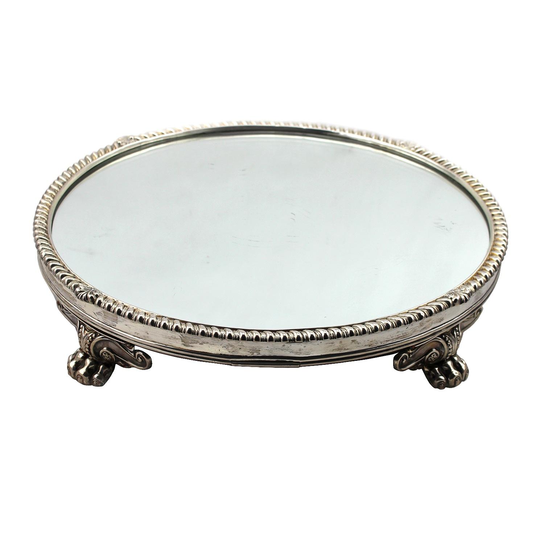 Circular Mirror In Silver frame, Birmingham 1814