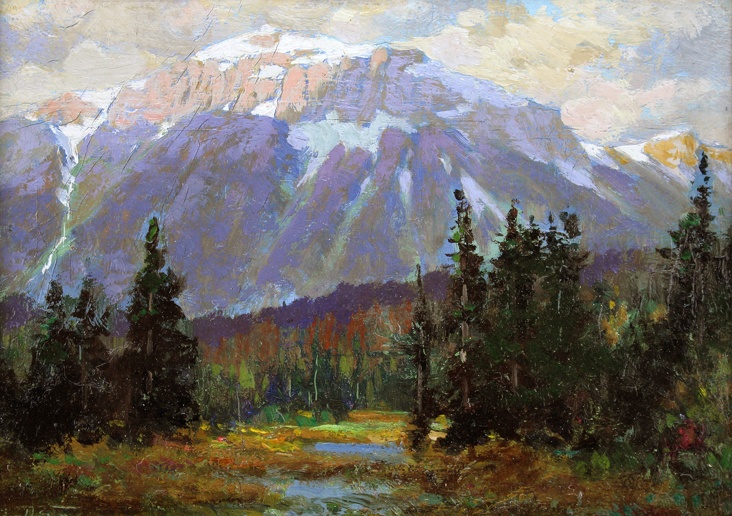Frederic Marlett Bell-Smith (Canadian 1846-1923) In the Selkirks