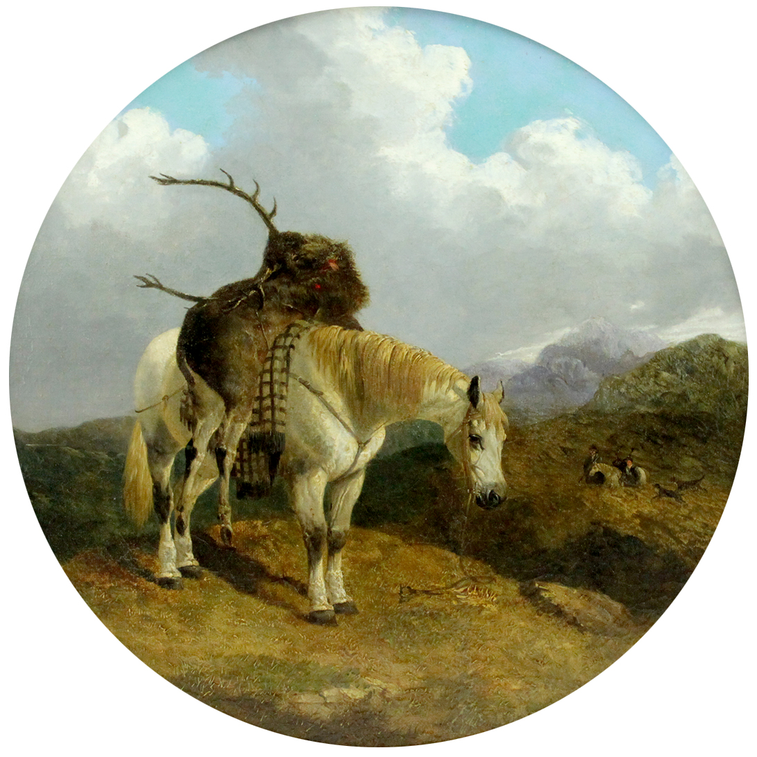 John Frederick Herring Jnr. (British 1820-1907) 'Scottish Hunting Scene'