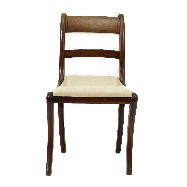 Set of six Georgian Mahogany Dining Chairs