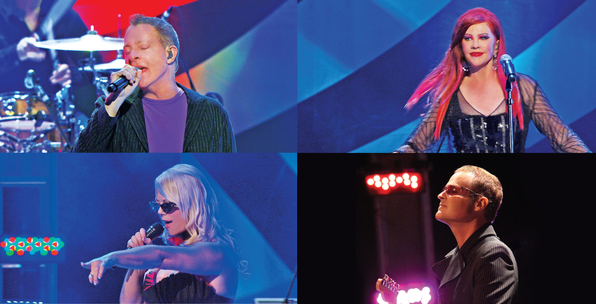 The B-52s live collage. Photo by Robb D. Cohen.jpg