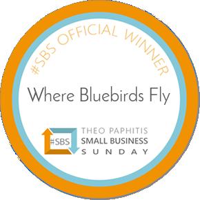 #sbs badge. Theo Paphitis Award Winning
