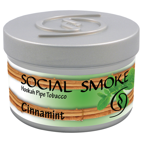 CINNAMINT - A fiery mix of hot cinnamon swept with refreshing mint undertones.