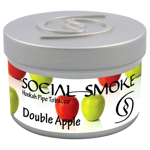 DOUBLE APPLE - A timeless combination of crisp red delicious and sweet yellow apples mixed with licorice and infused with spices.