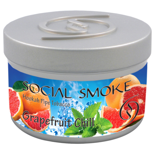 GRAPEFRUIT CHILL - An aromatic blend of tart grapefruit peel and garden mint with notes of bitter pomelo, juicy citrus, and a cooling finish.