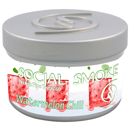 WATERMELON CHILL - A juicy blend of Watermelon with deep hints of refreshing mint.