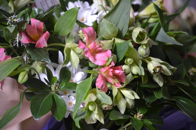 Hellebore and alstroemeria bouquet.jpg