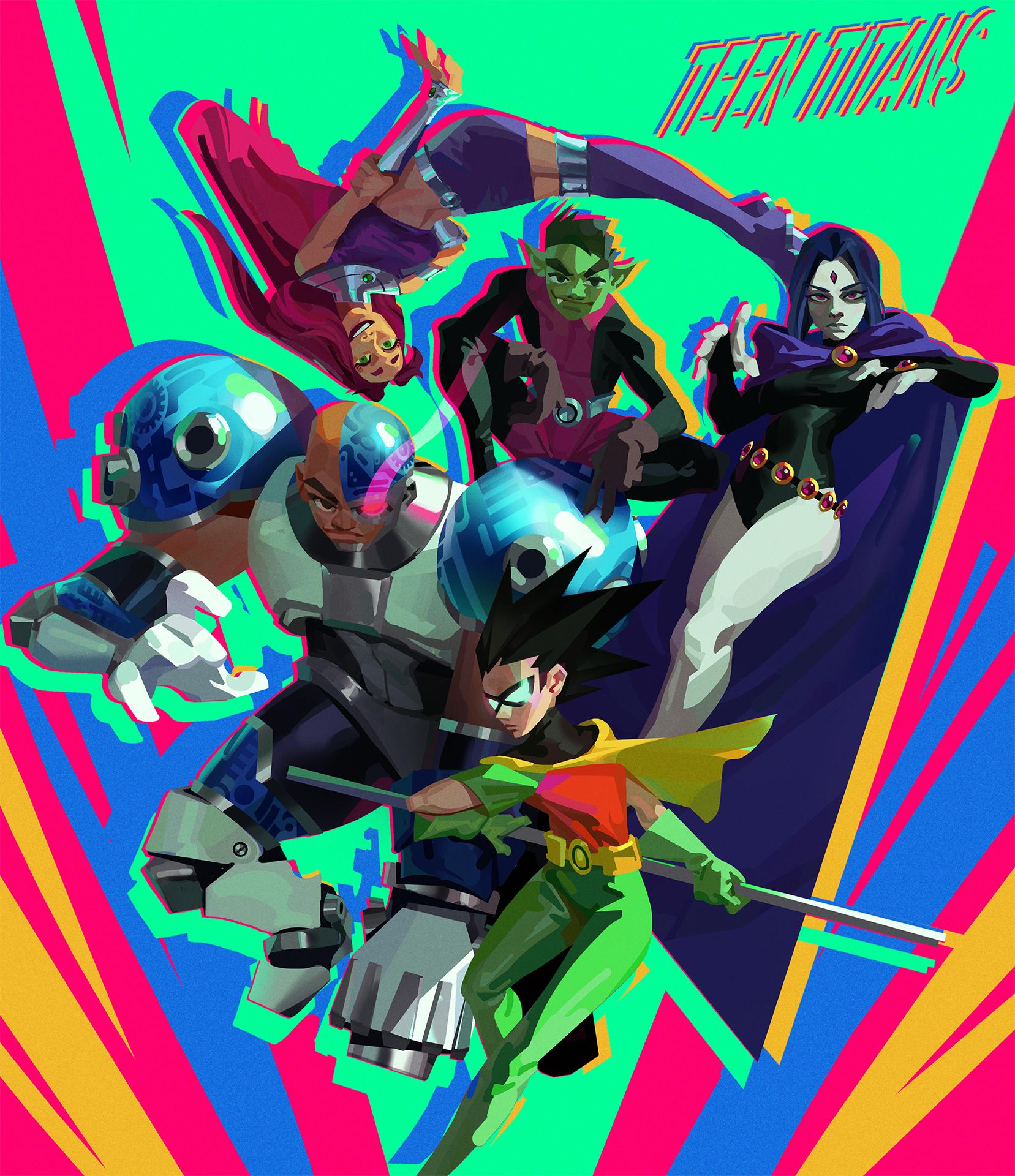 Teen Titans Fanart