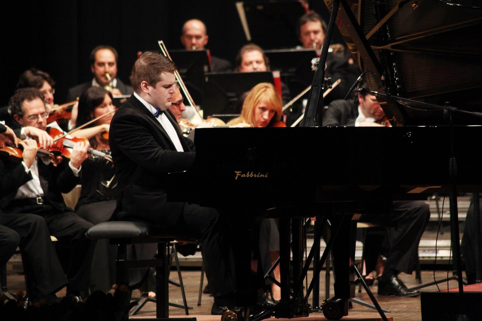 Teatro Civico, Vercelli. With Carlo Coccia Symphony Orchestra