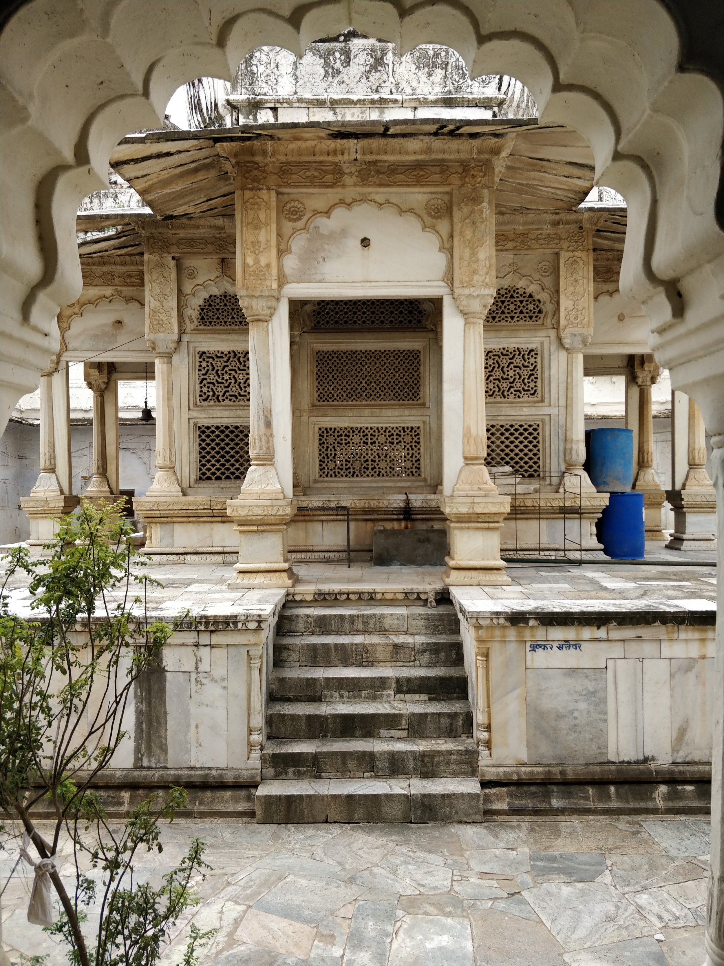 Temple View by Sameer Chadha