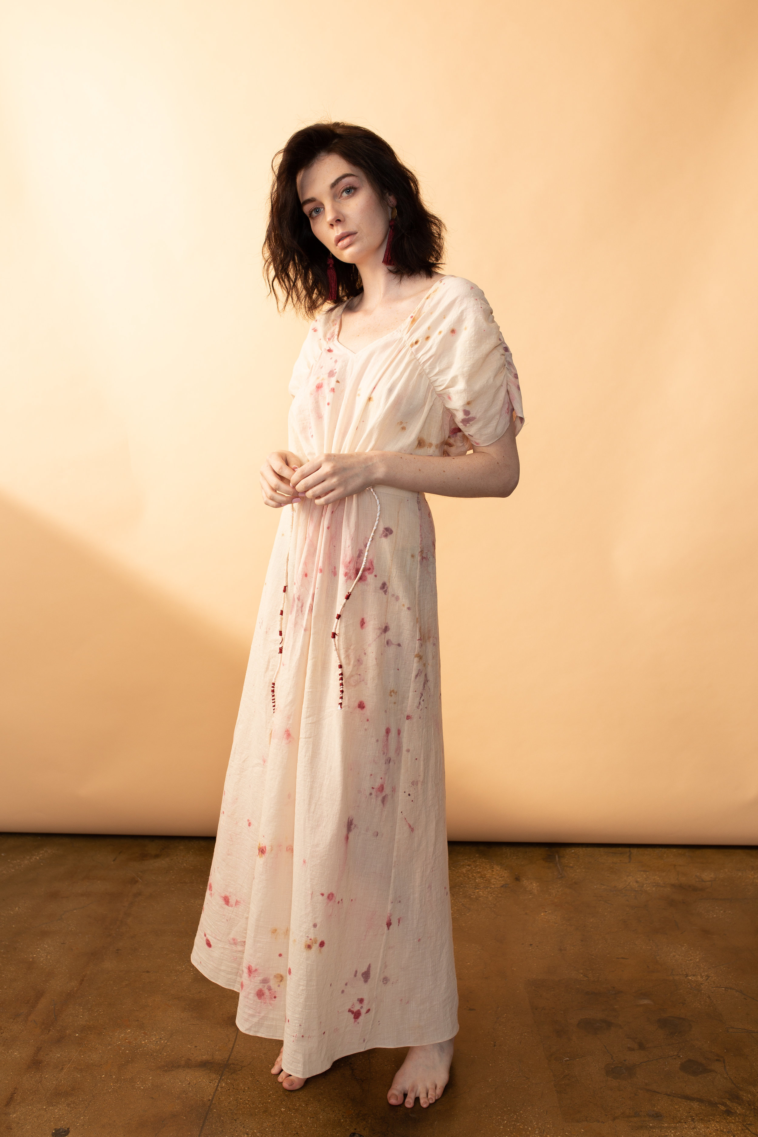 We believe in special: carefully and thoughtfully created from conception to design.  The Portia dress was made in a very limited number,  you can get yours  here.