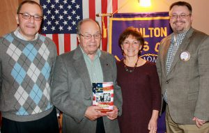 From left are: Jim Farfaglia, Leo Chirello, Mary Kimball and Dave Guyer.