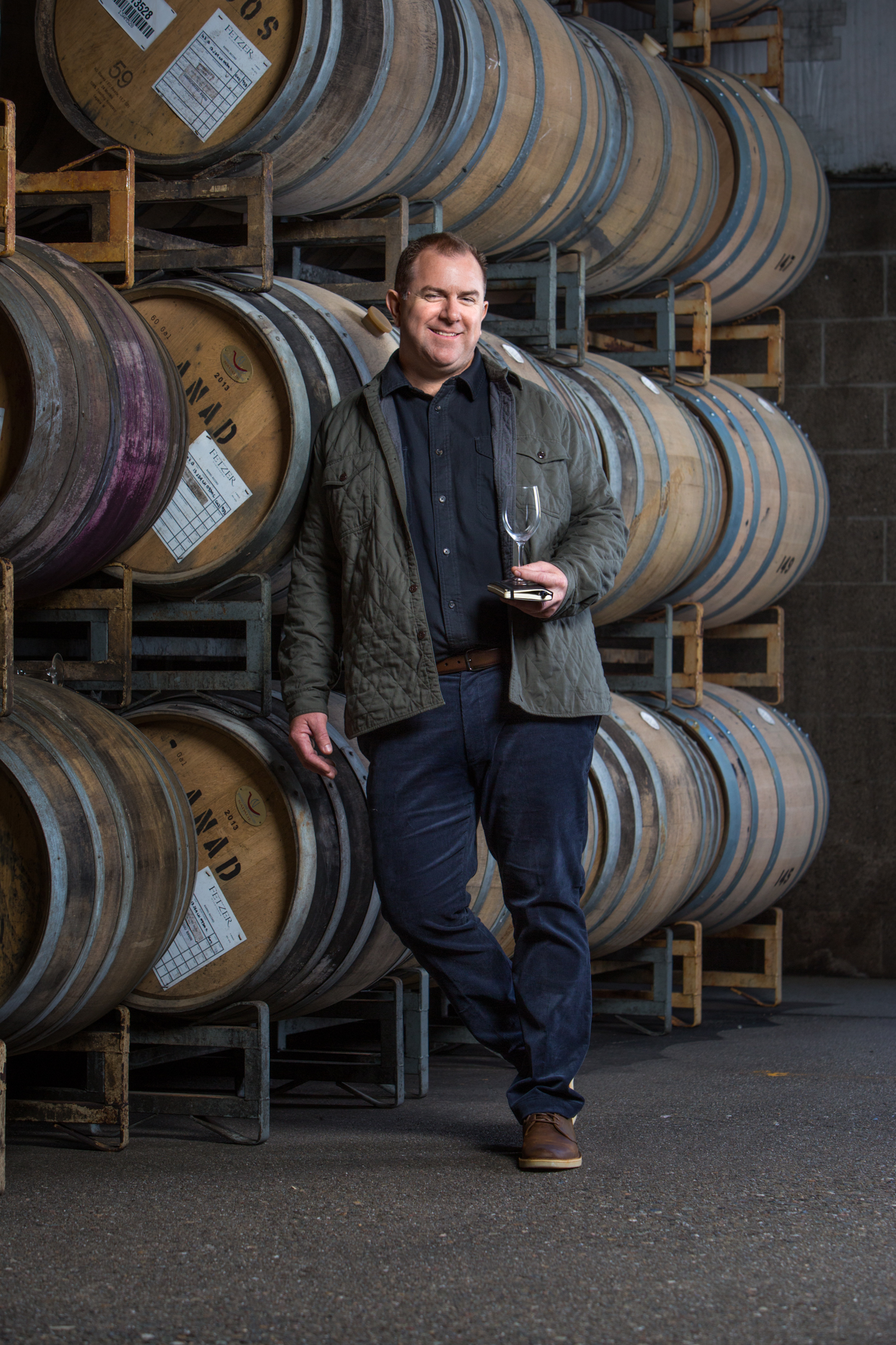 Winemaker Portrait for Fetzer Winery by Sonoma Bottle