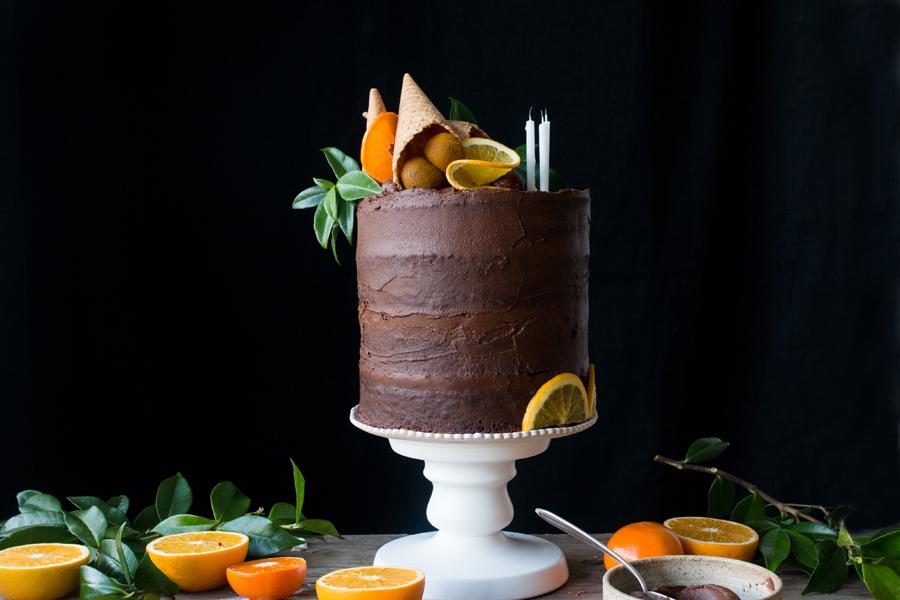 the little plantation vegan supperclub cake