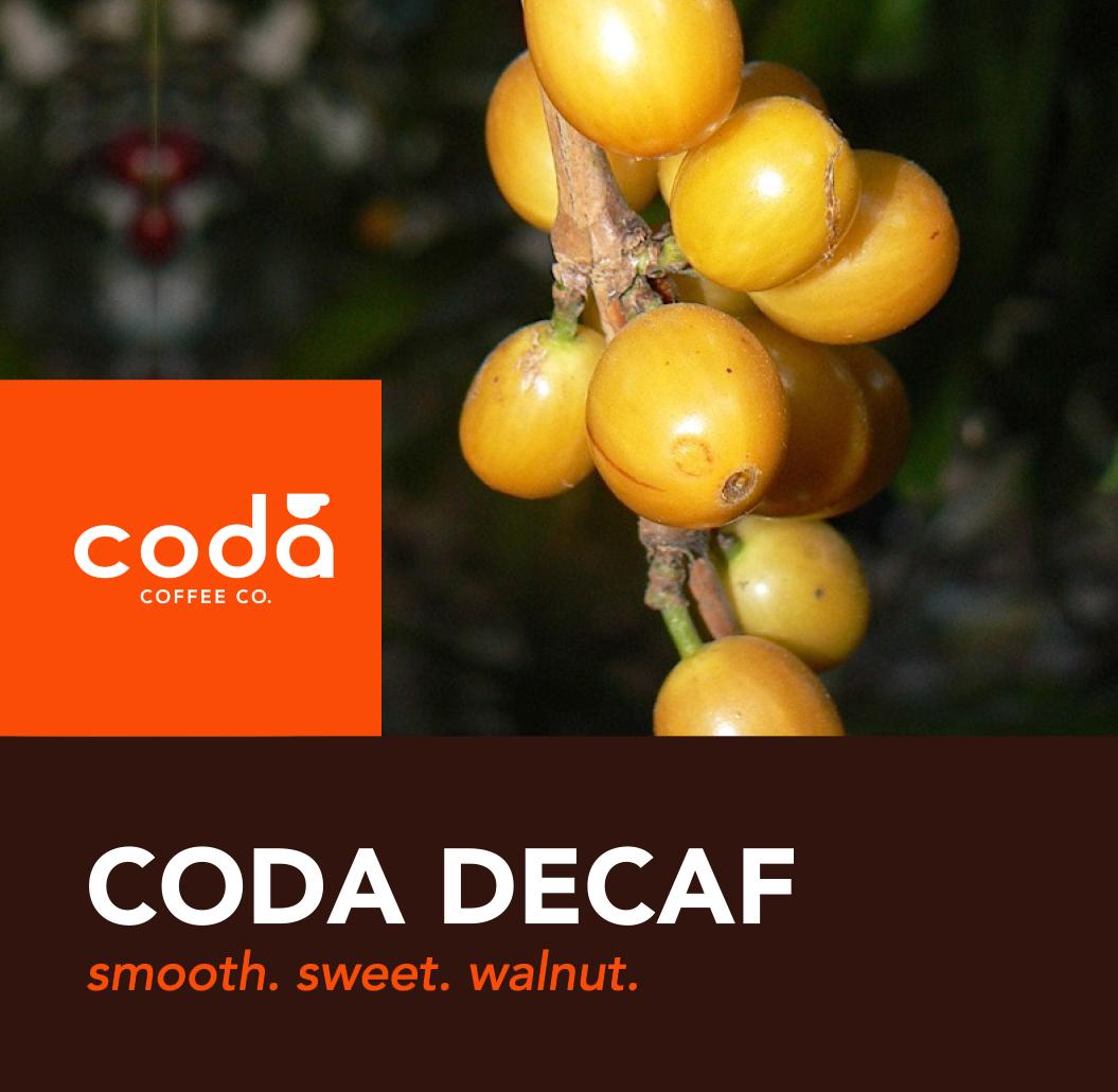 Coda Coffee Company Coda Decaf Coffee Blend