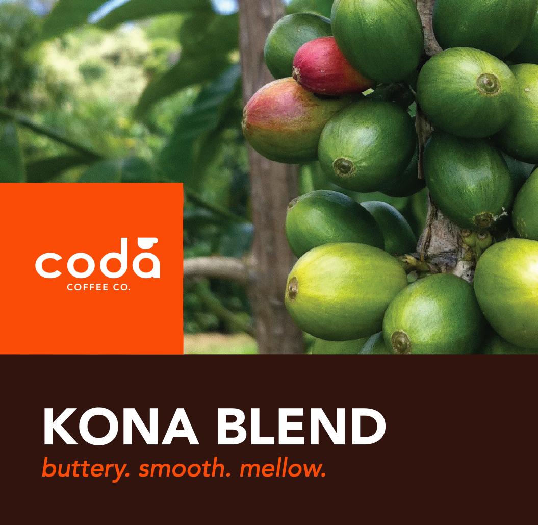 Coda Coffee Company Kona Blend Coffee