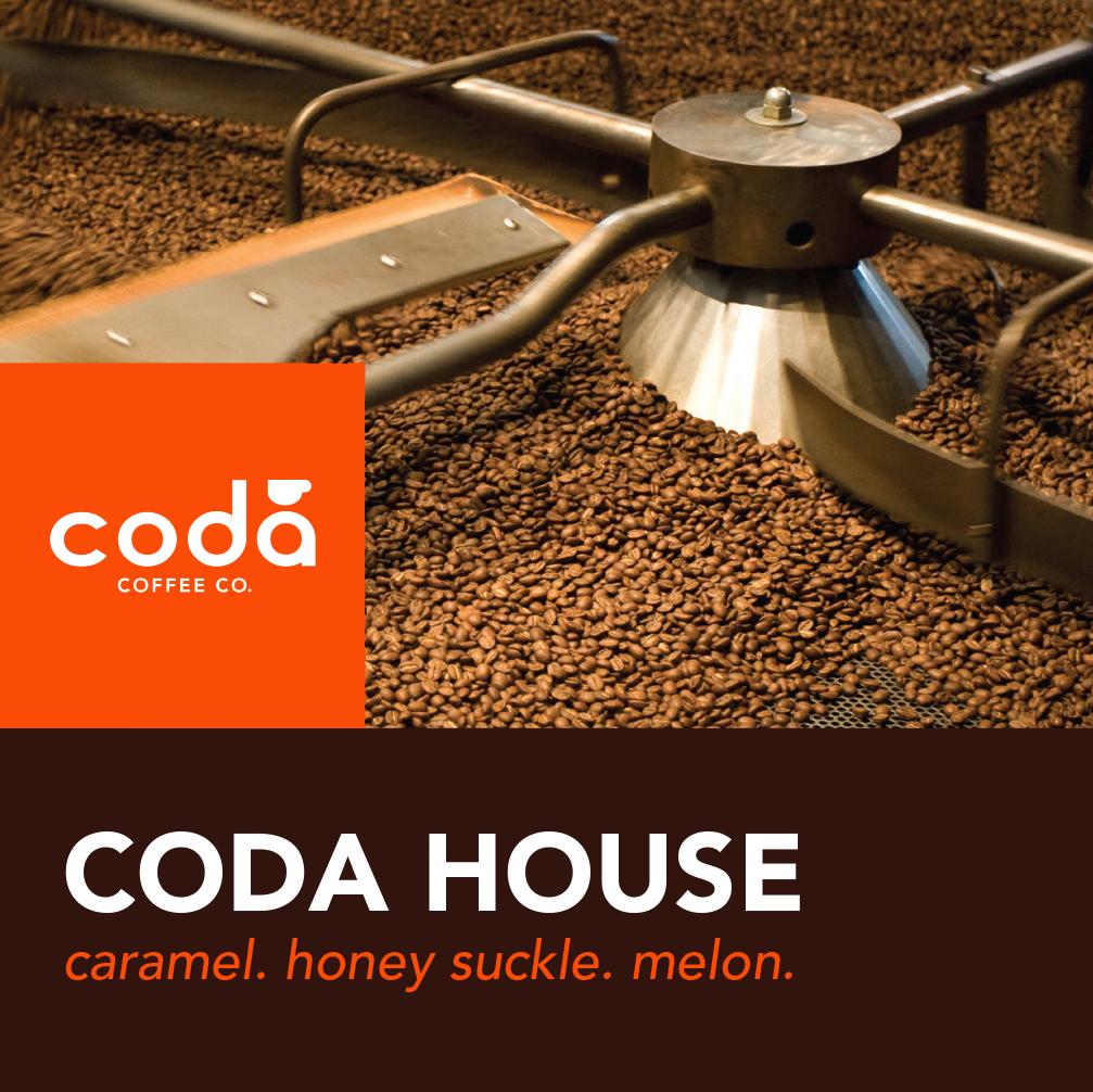 Coda Coffee Company Coda House Coffee Blend