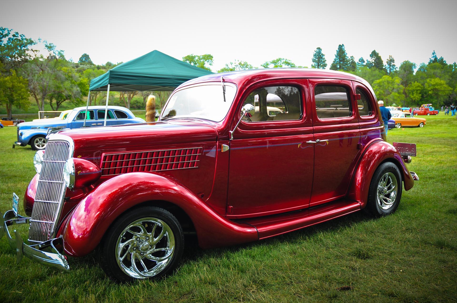 2012 Best of Show Joe & Eileen Bigotti Sparks, Nevada 1935 Ford Sedan