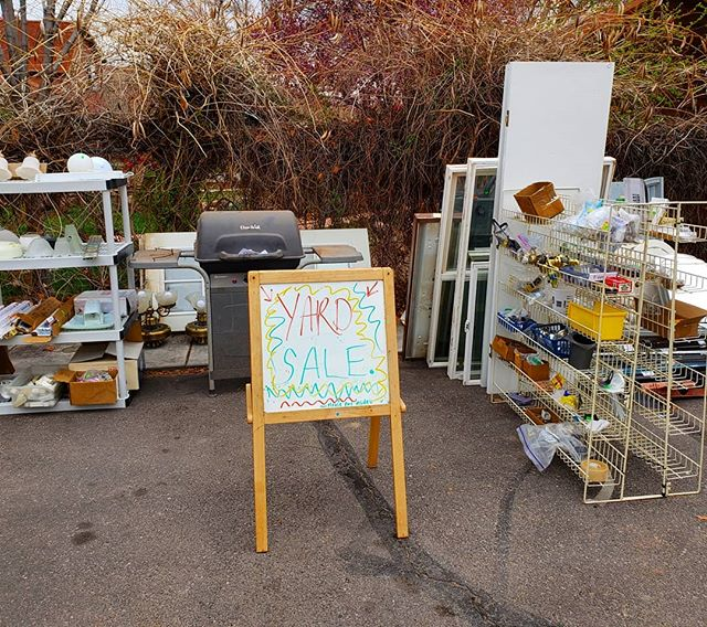 Yard Sale at Wabi ALL WEEK!! We've got items from our Building Supplies Section out in the parking lot and on sale all this week!! 👐👐 #sale #now #thisweek #wabisabi #moab #thriftlife #thriftlove #thrift #local