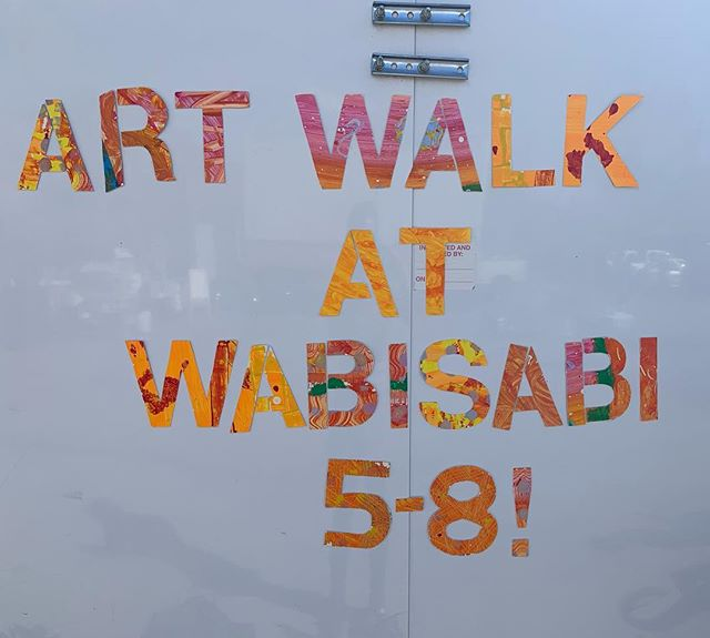Come one come all to our first EVER Moab Art Walk! Make some spin art, buy some amazing donated art, and grab a bite at the @moabkitchen between 5 PM and 8 PM! #moabartwalk #art #thriftart #moabart #secondhandart