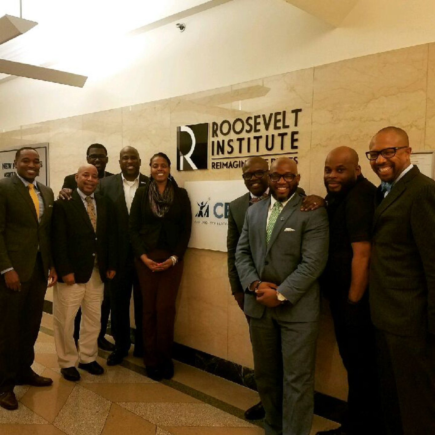 Collaborative Planning Luncheon at Campaign for Black Male Achievement (CBMA) Headquarters with Key Thought Leaders in the National Effort to Support Black Men and Boys