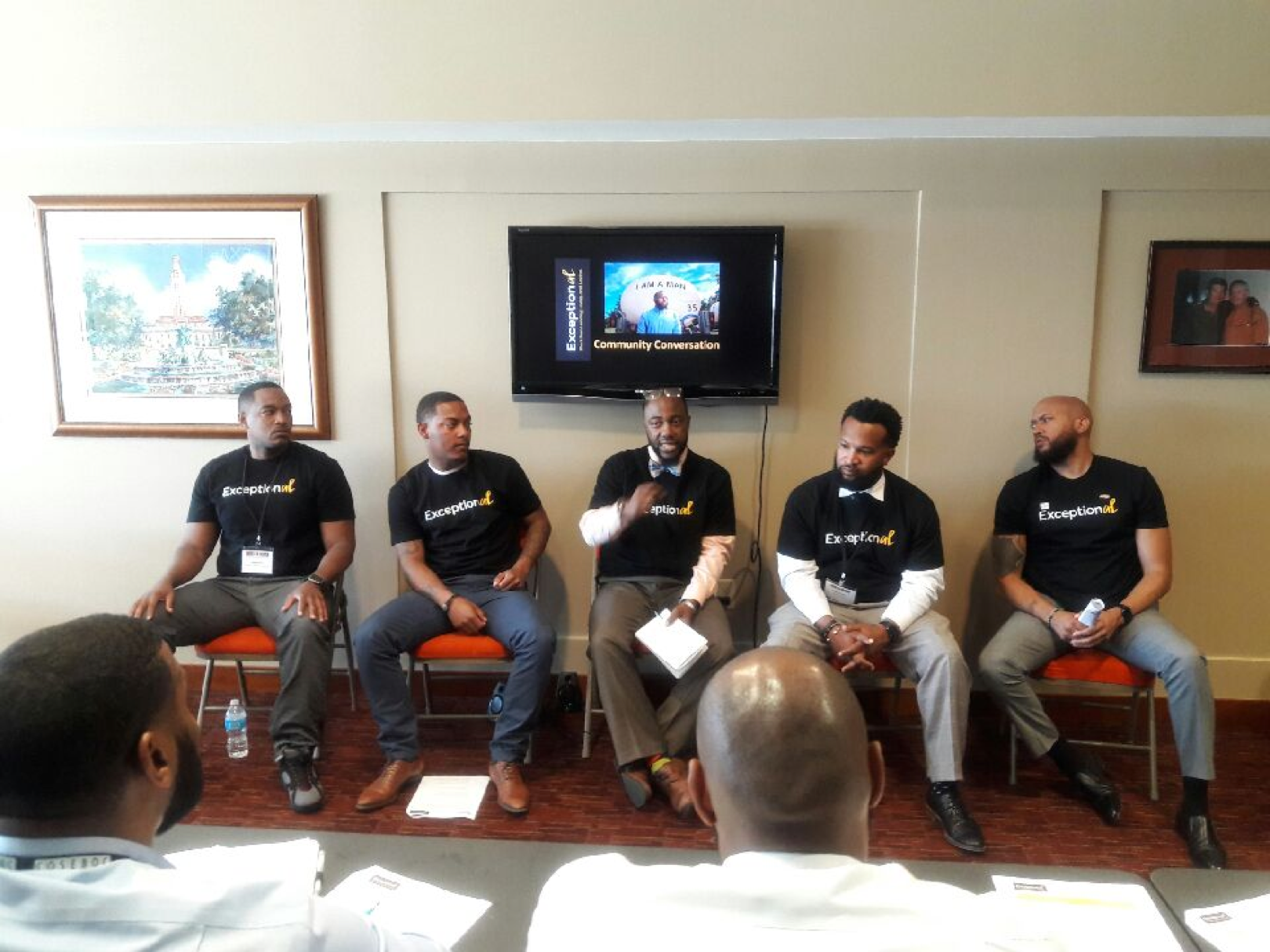 Men of The ExceptionAL Project at Coalition of Schools Educating Boys of Color Conference in Austin, TX