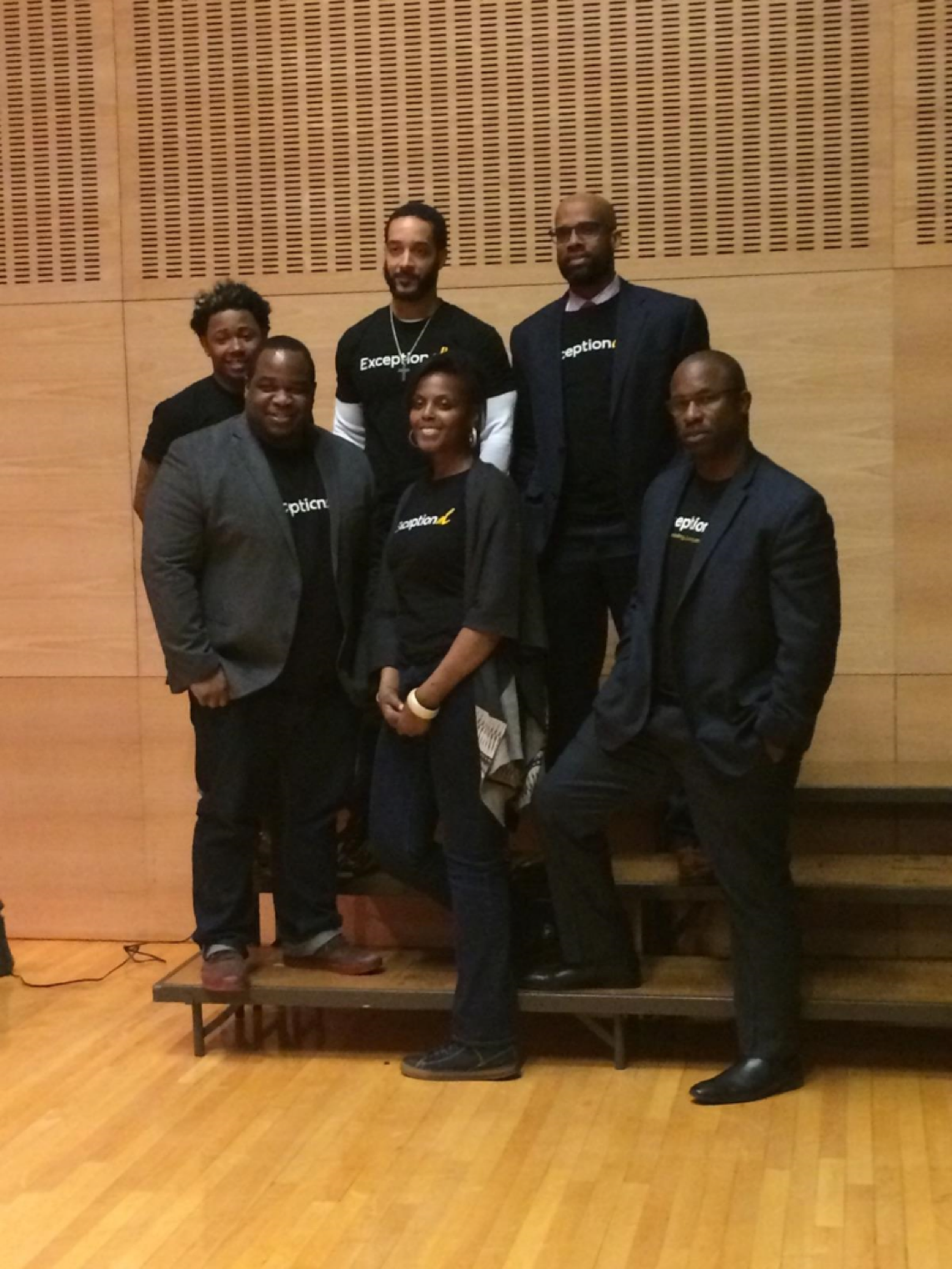 Men of The ExceptionAL Project after a Community Conversation at Bank Street School